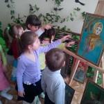 картины из соломы - выставка