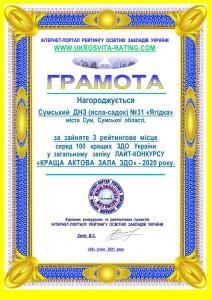 3-Сумський ДНЗ (ясла-садок) №31 «Ягідка»_1
